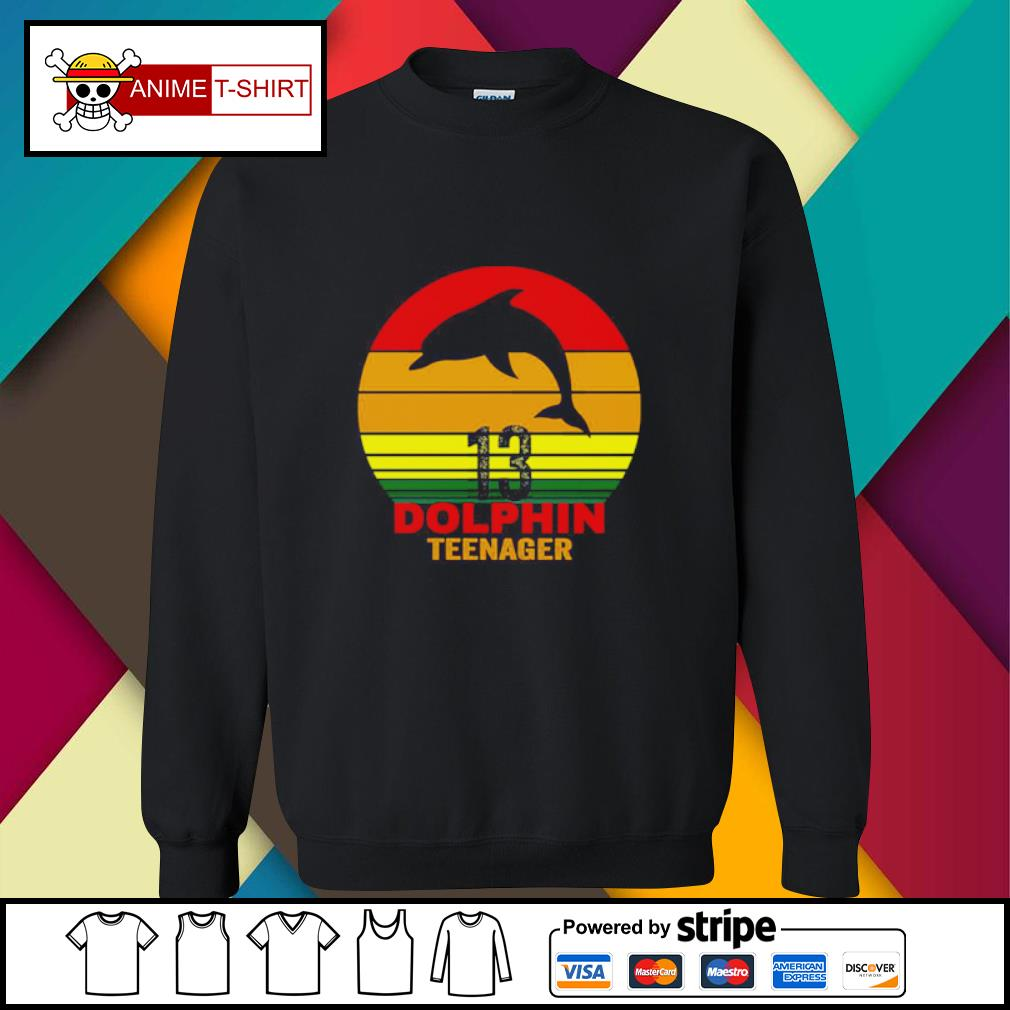 13 Dolphin teenager s sweater