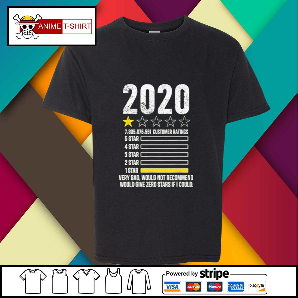 2020 review Very Bad Would Not Recommend 1 star funny Gift s youth-tee