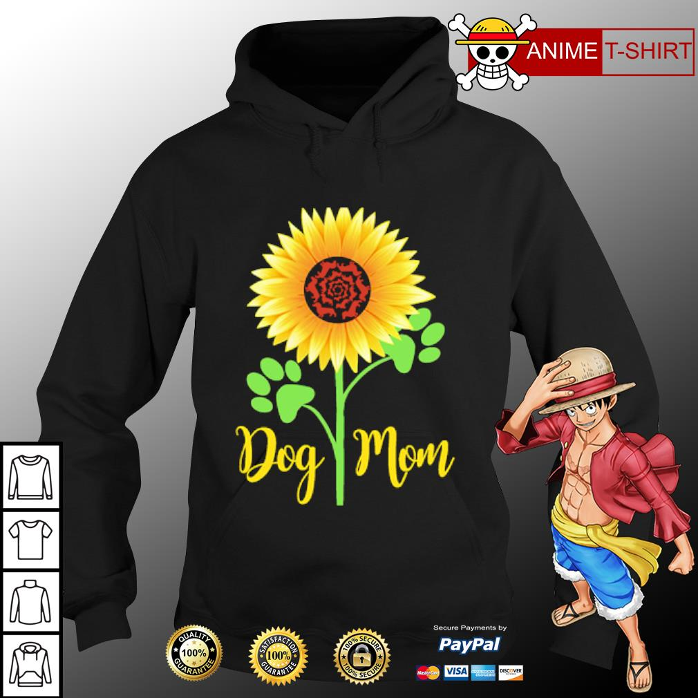 Dachshund Sunflower dog mom s hoodie