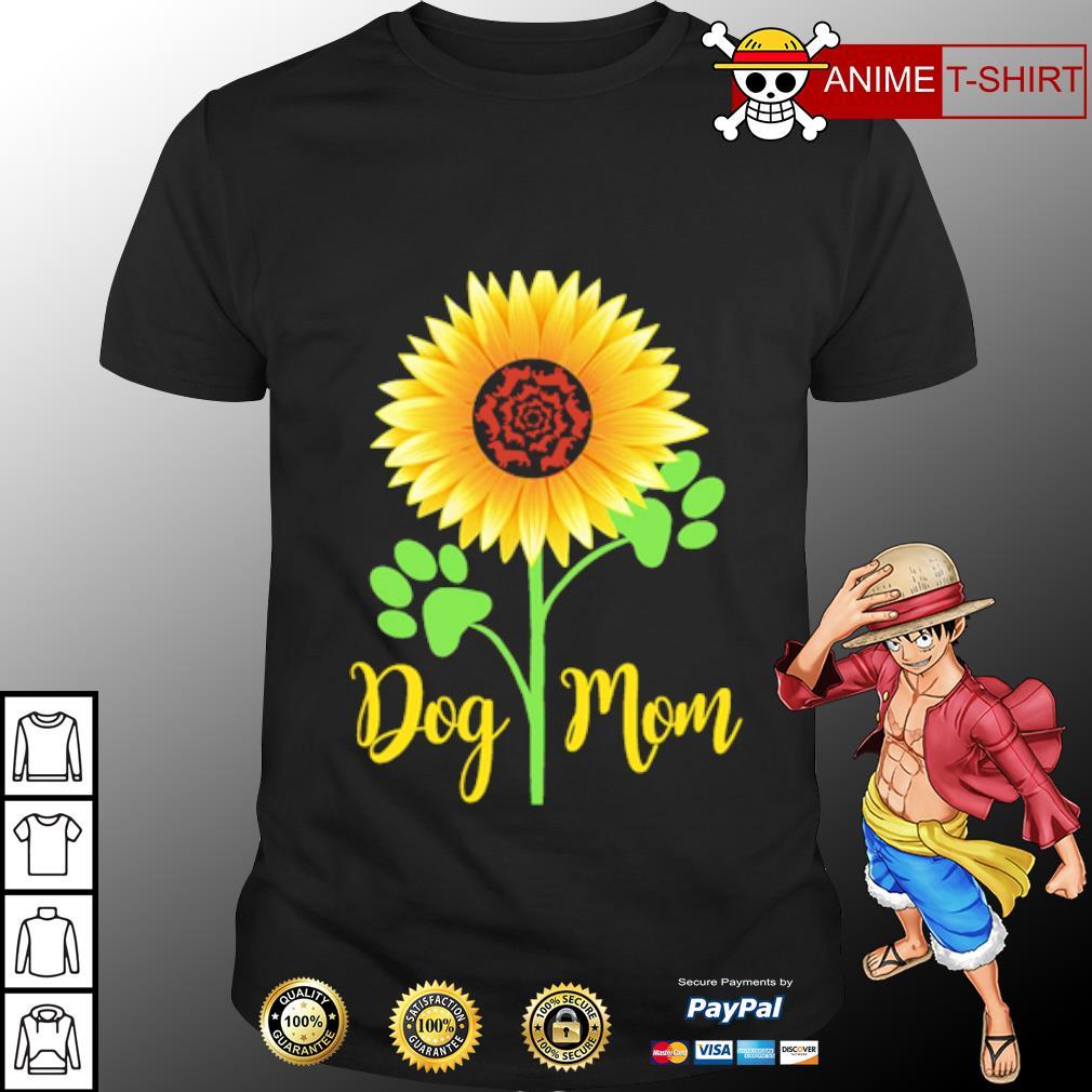 Dachshund Sunflower dog mom shirt