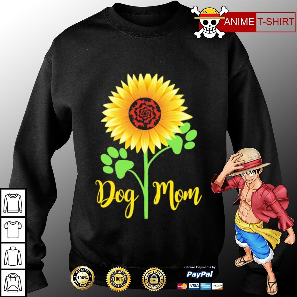 Dachshund Sunflower dog mom s sweater