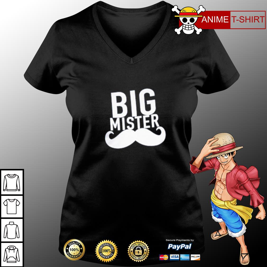 Official Big mister s v-neck-t-shirt