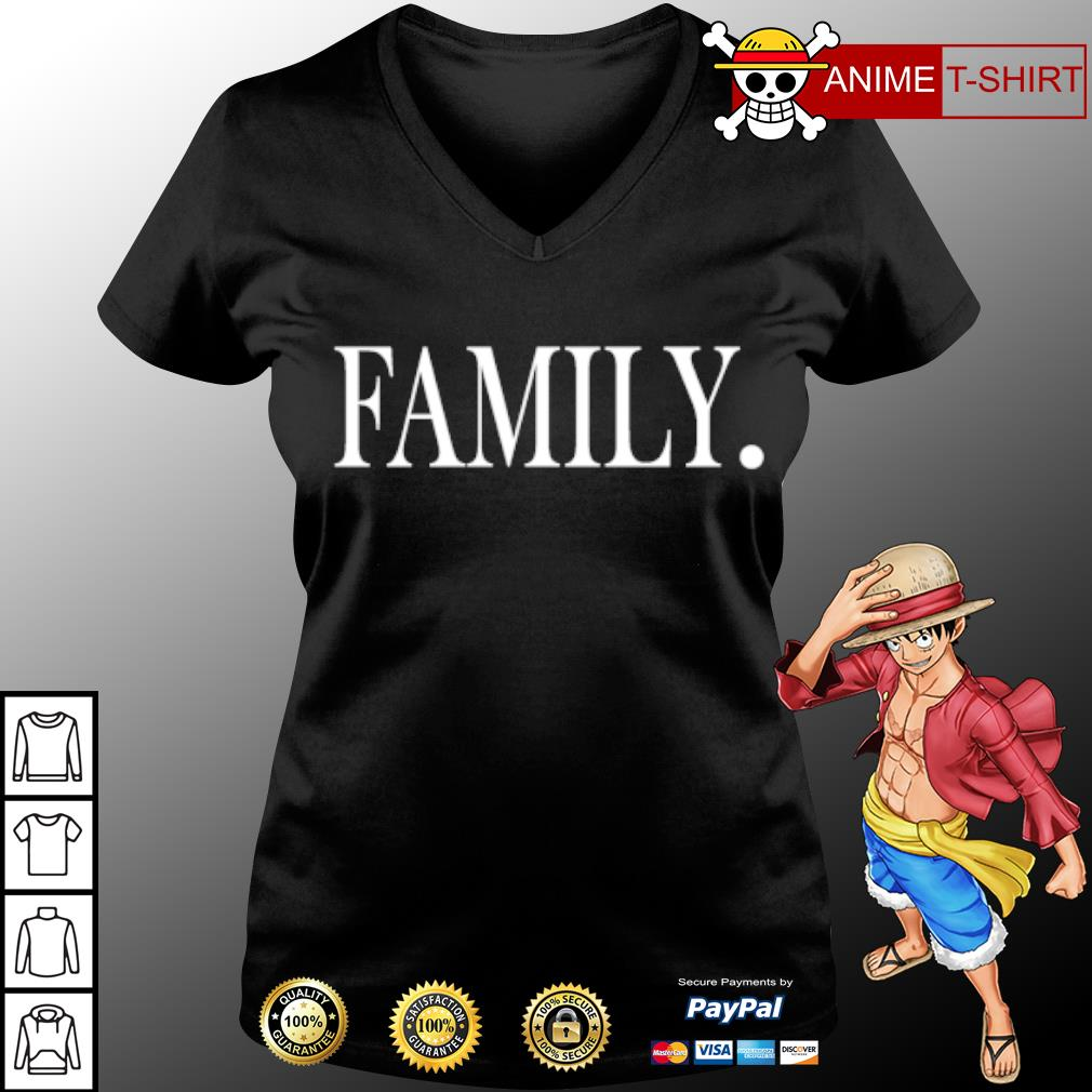 Official Family s v-neck-t-shirt