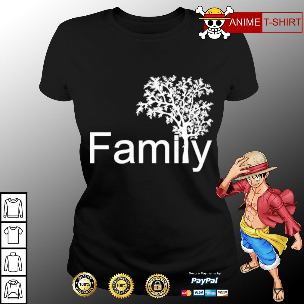 Official Family tree s ladies-tee