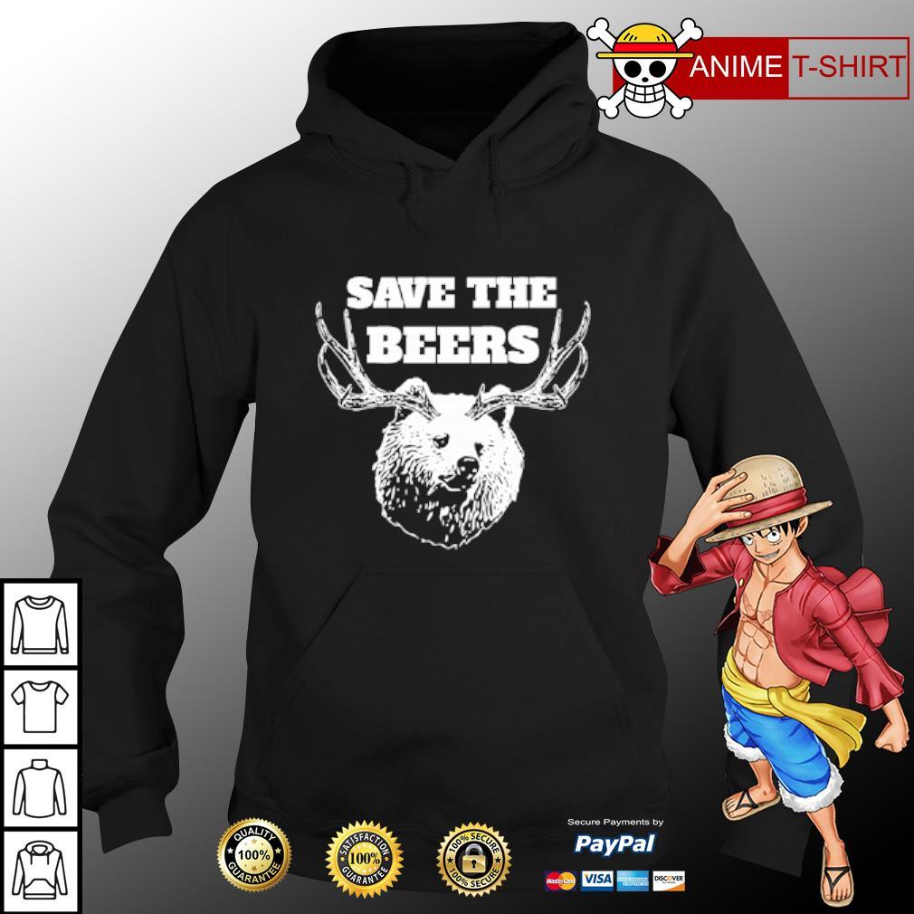 Save the beers hunter s hoodie