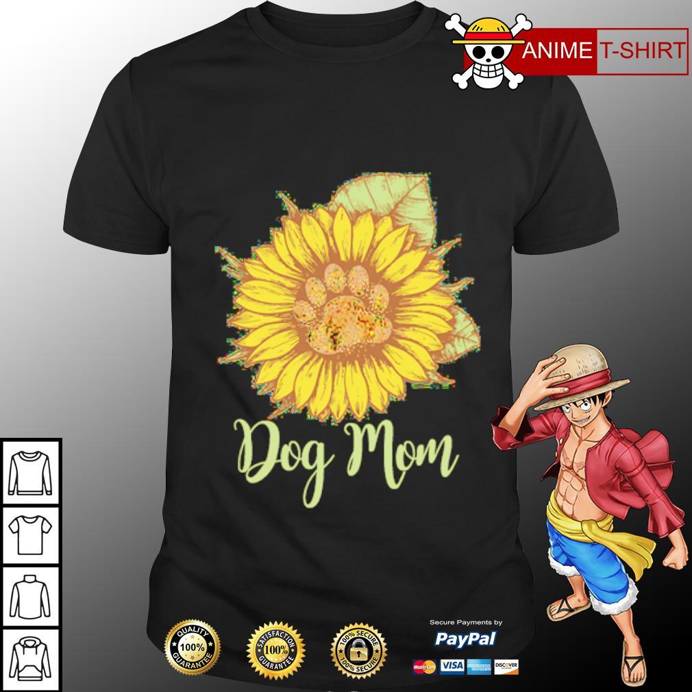 Sunflower paw dog mom shirt