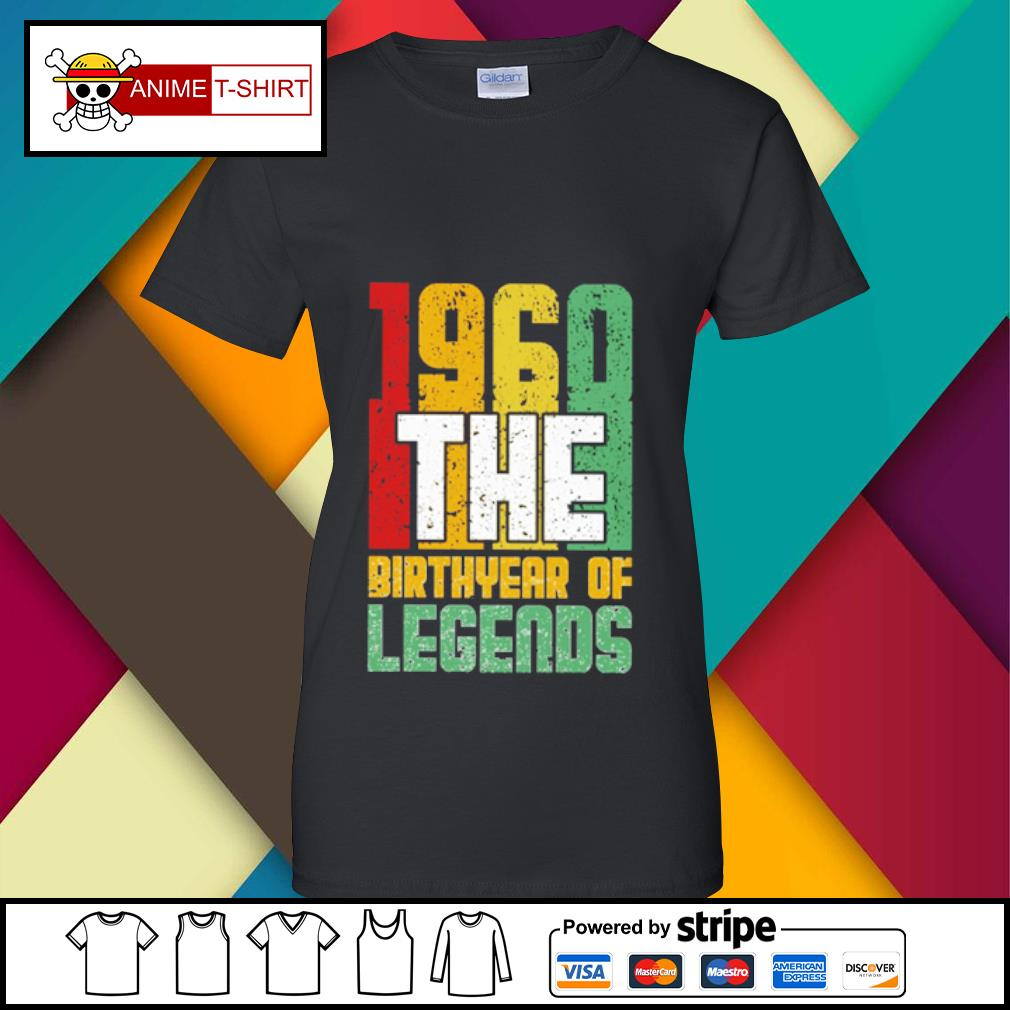 1960 the Birthyear of Legends s ladies-tee