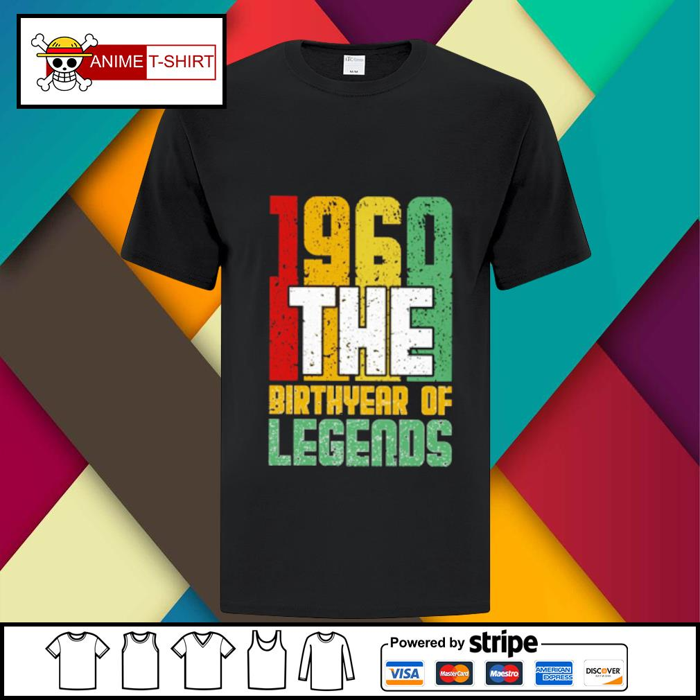 1960 the Birthyear of Legends shirt
