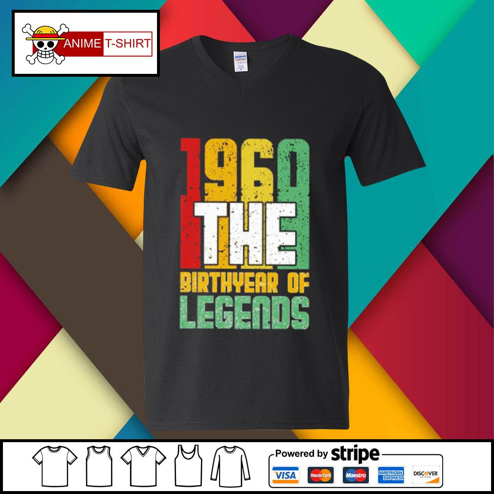 1960 the Birthyear of Legends s v-neck-t-shirt