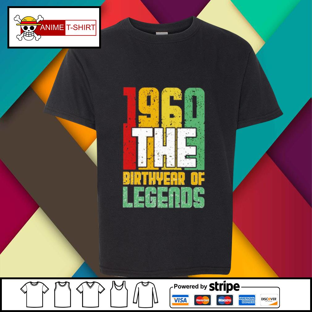 1960 the Birthyear of Legends s youth-tee