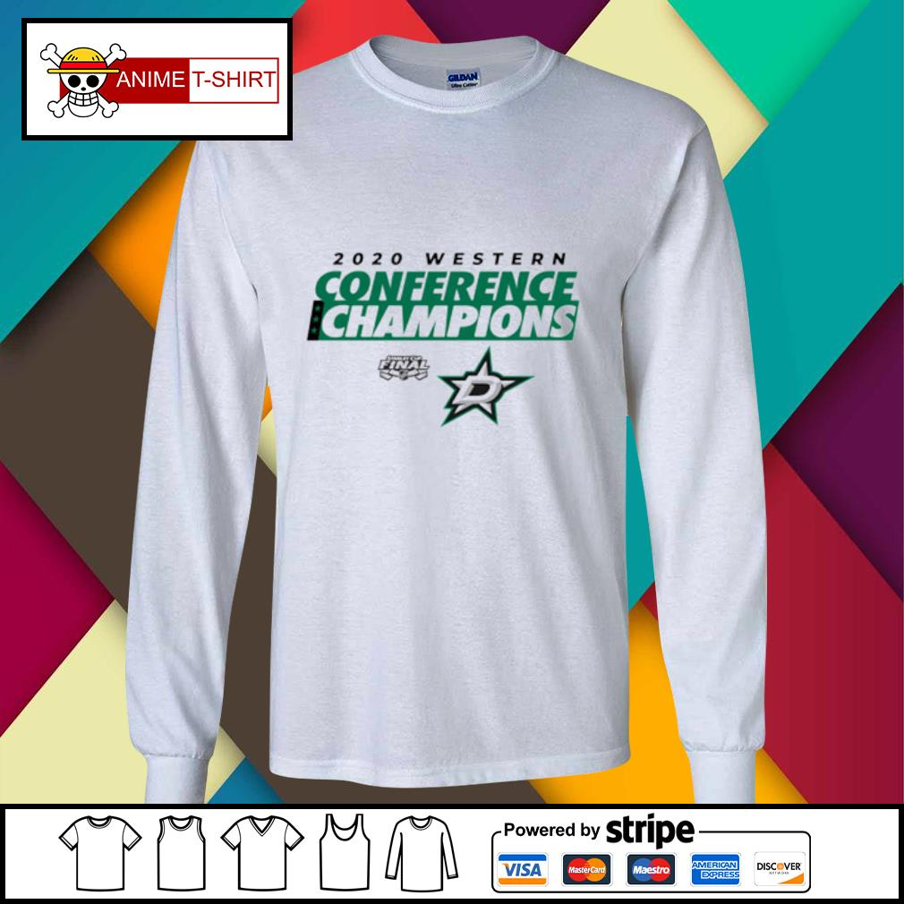 2020 western conference champions s longsleeve-tee