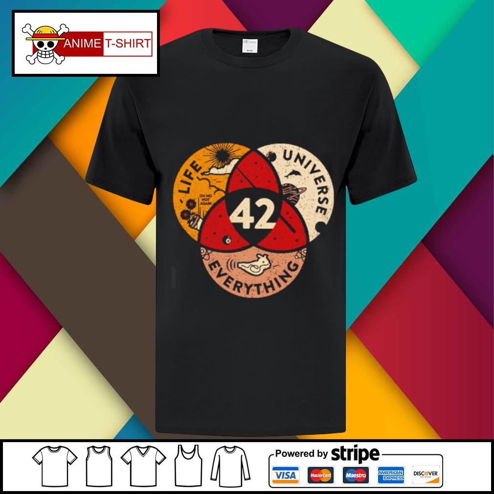 42 The Answer To Life Universe And Everything Shirt