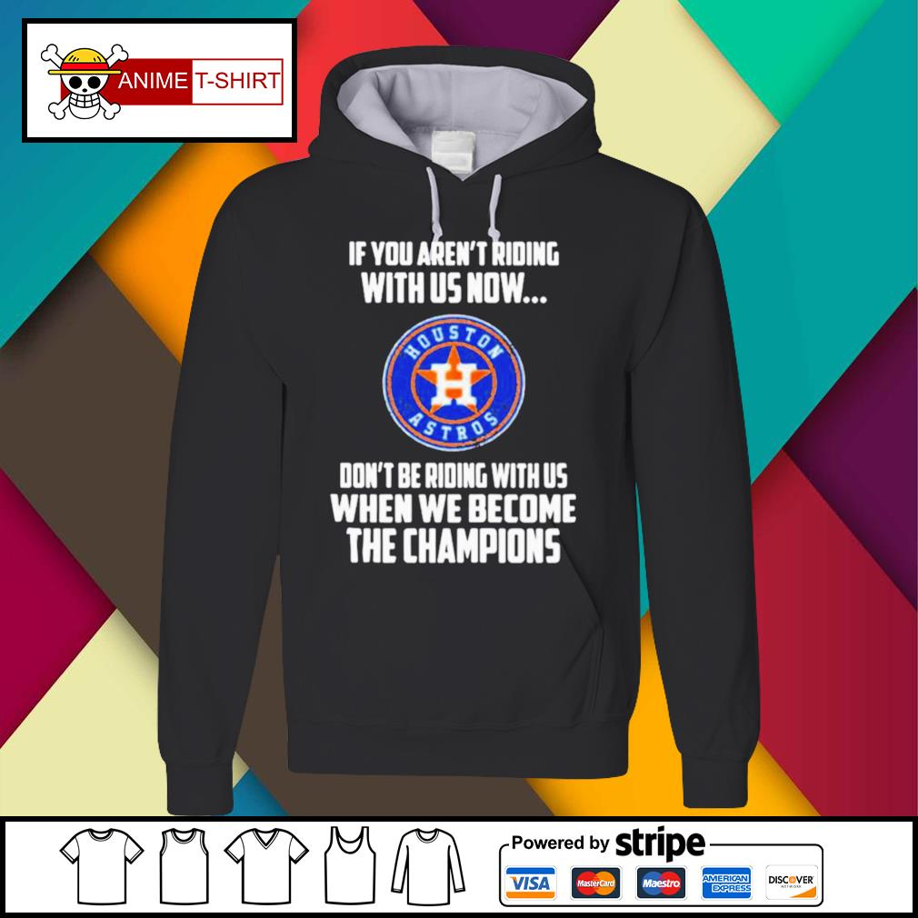 2020 MLB Houston Astros Baseball We Become The Champions s Hoodie