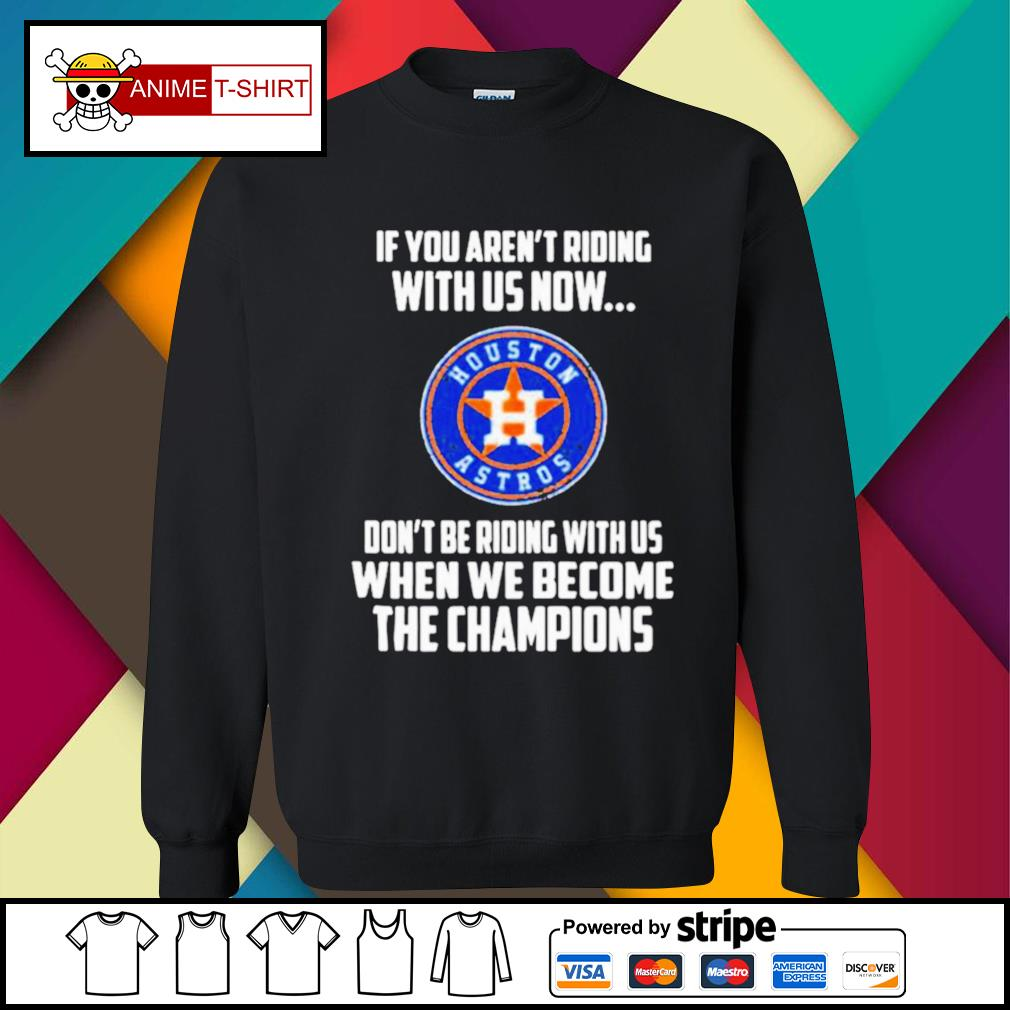 2020 MLB Houston Astros Baseball We Become The Champions s sweater