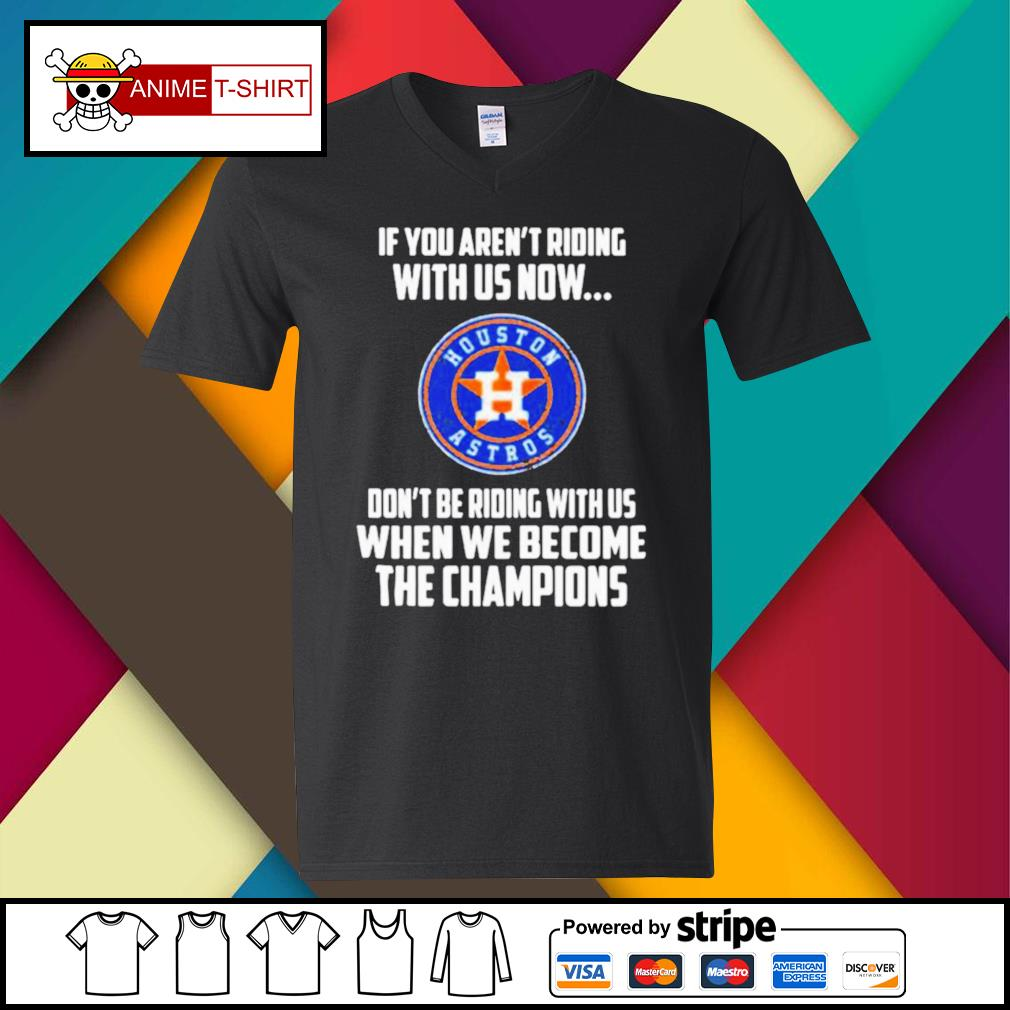 2020 MLB Houston Astros Baseball We Become The Champions s v-neck-t-shirt
