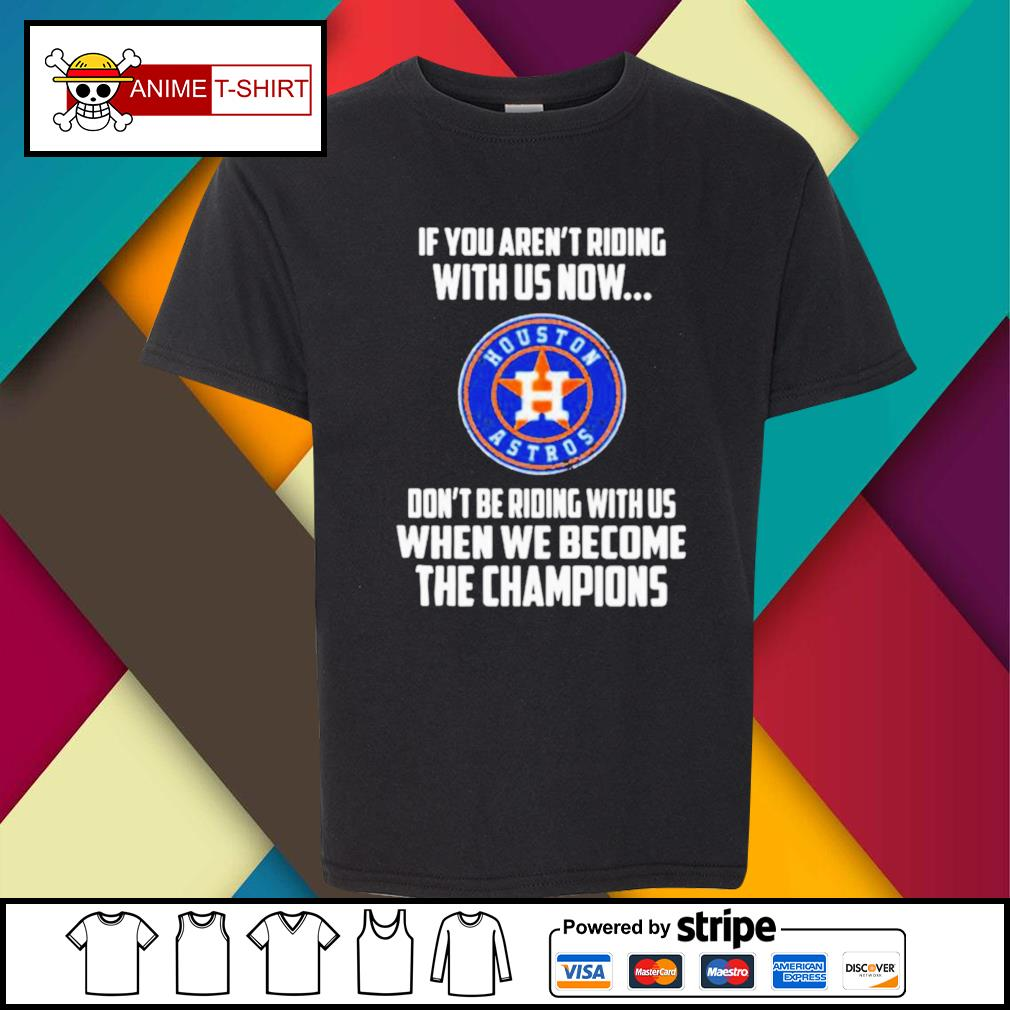 2020 MLB Houston Astros Baseball We Become The Champions s youth-tee