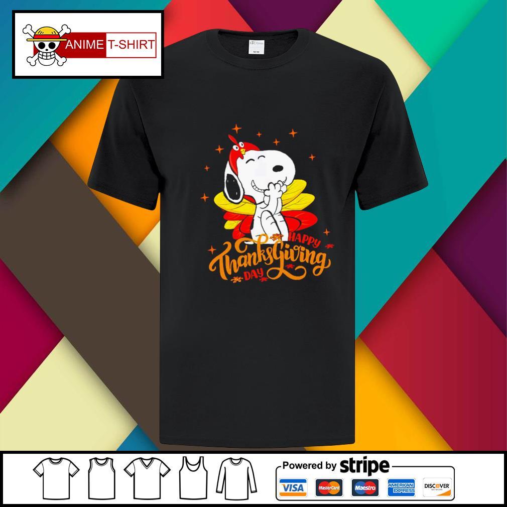 Happy Thanksgiving Snoopy Shirt