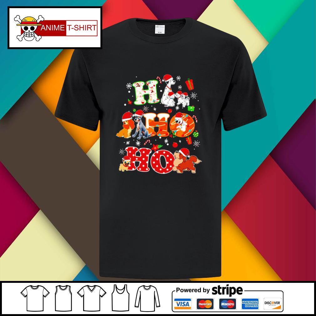 Ho Ho Ho Disney Dogaholic Christmas Shirt