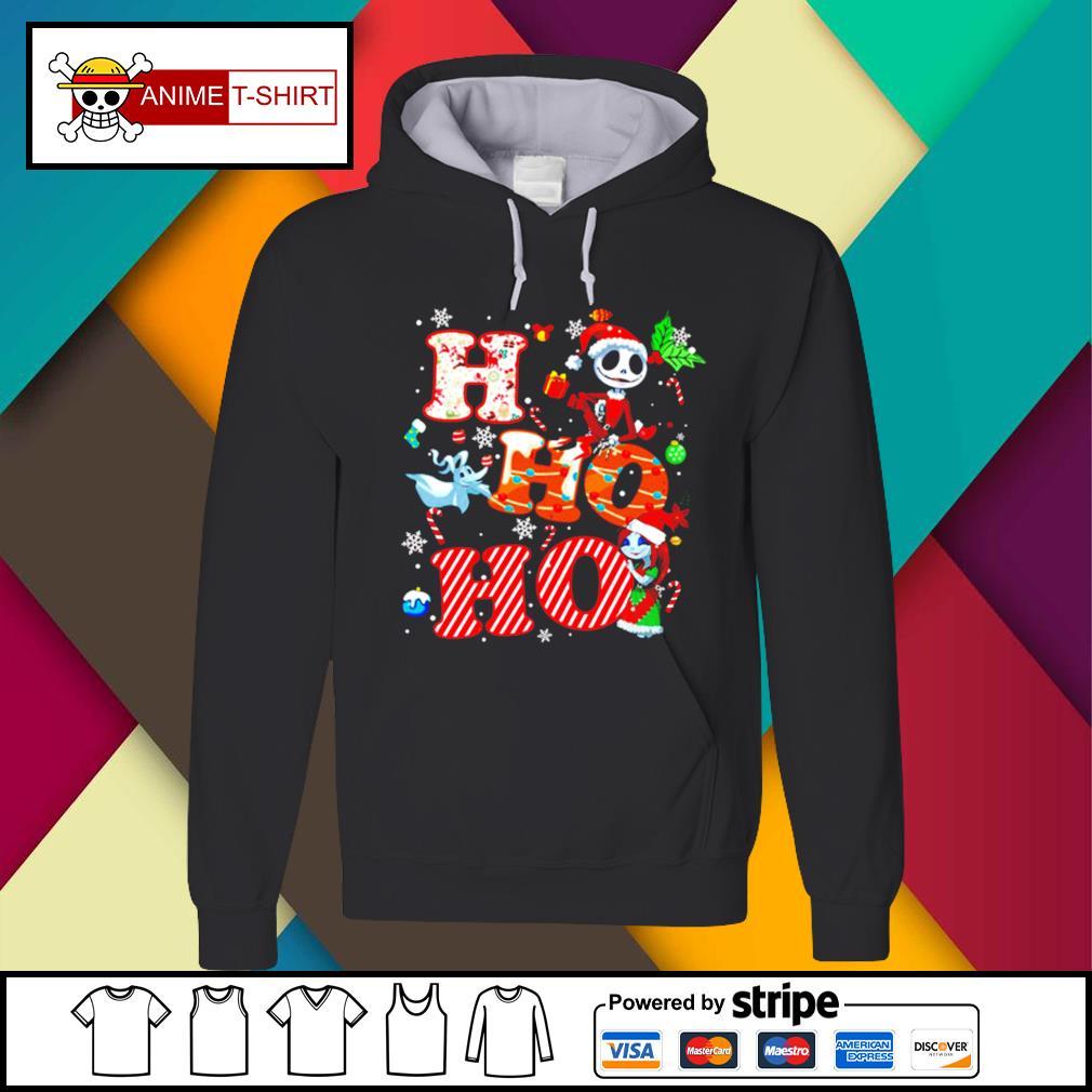 Ho Ho Ho Nightmare Before Christmas Shirt Hoodie