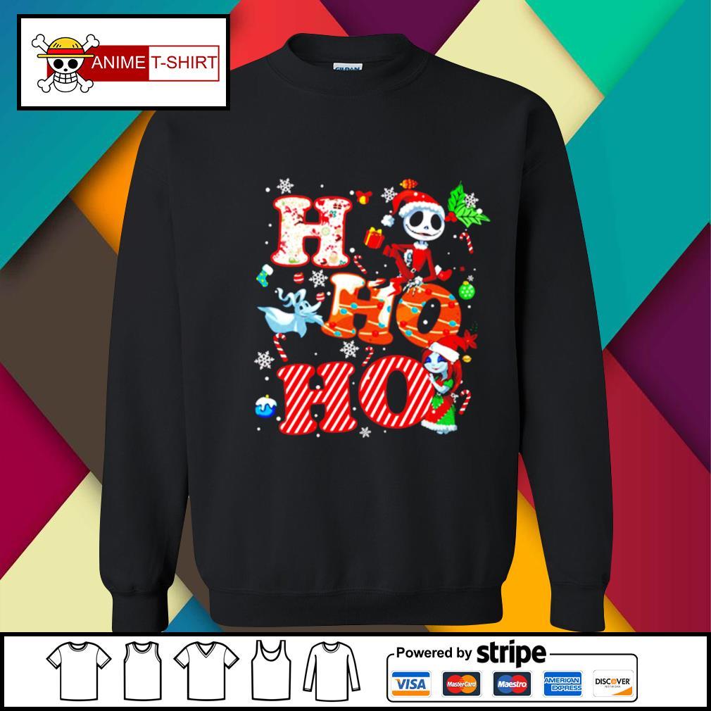 Ho Ho Ho Nightmare Before Christmas Shirt sweater