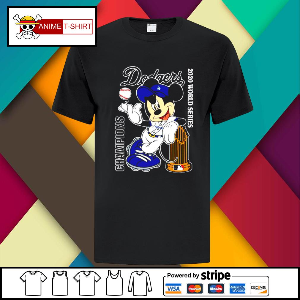 Mickey Mouse Dodgers Championship 2020 Shirt
