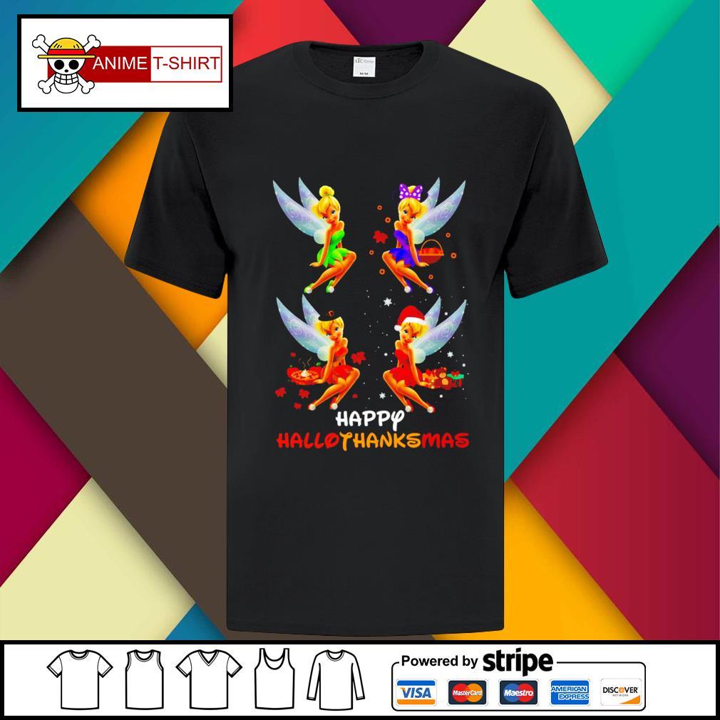 Official Hallothanksmas Tinkerbell Shirt