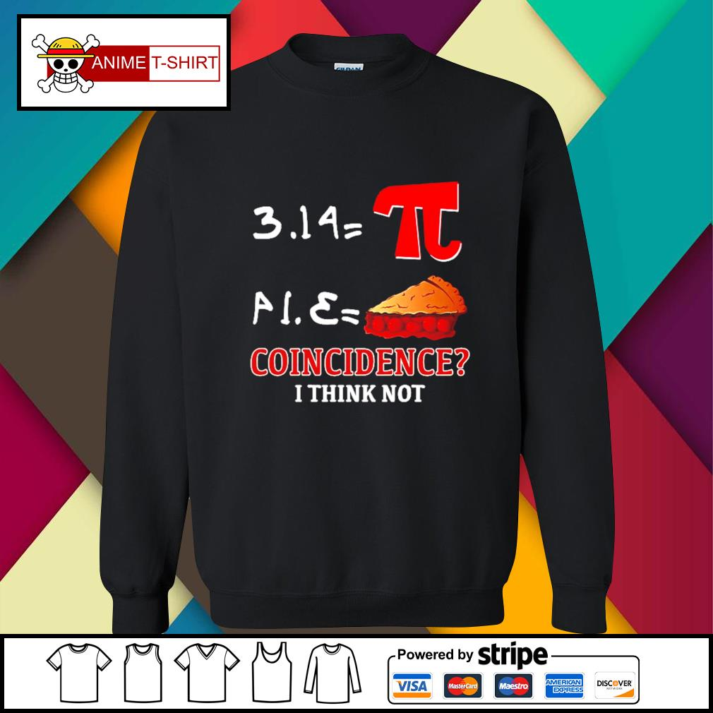Pi Equals Pie coincidence I think not s sweater