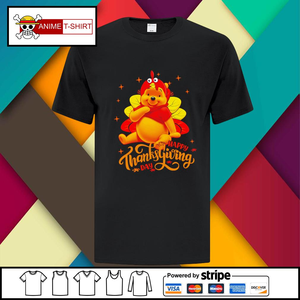 Pooh Happy Thanksgiving Day Shirt