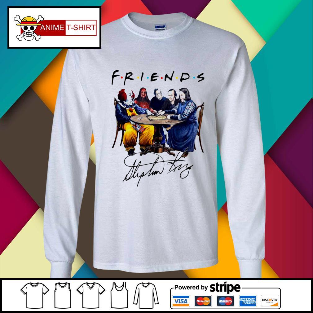 Stephen King Friends Signature Shirt longsleeve-tee