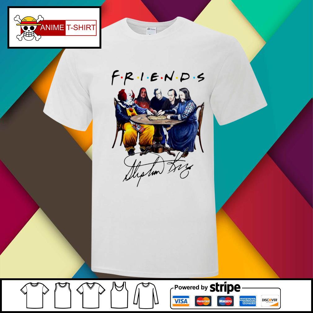 Stephen King Friends Signature Shirt