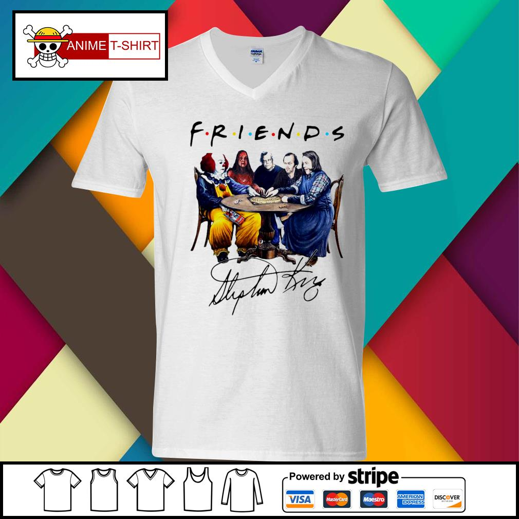 Stephen King Friends Signature Shirt v-neck-t-shirt