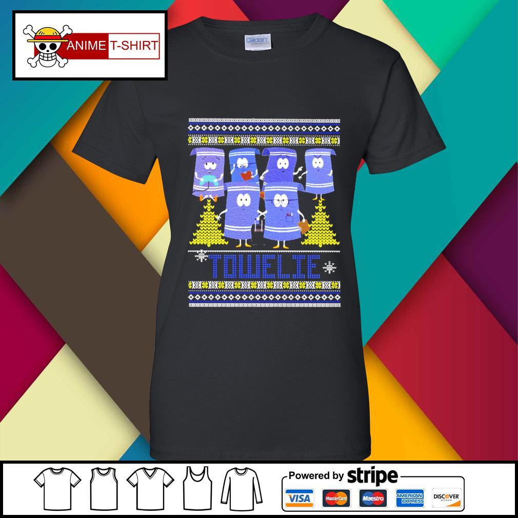 Towelie Christmas Shirt ladies-tee