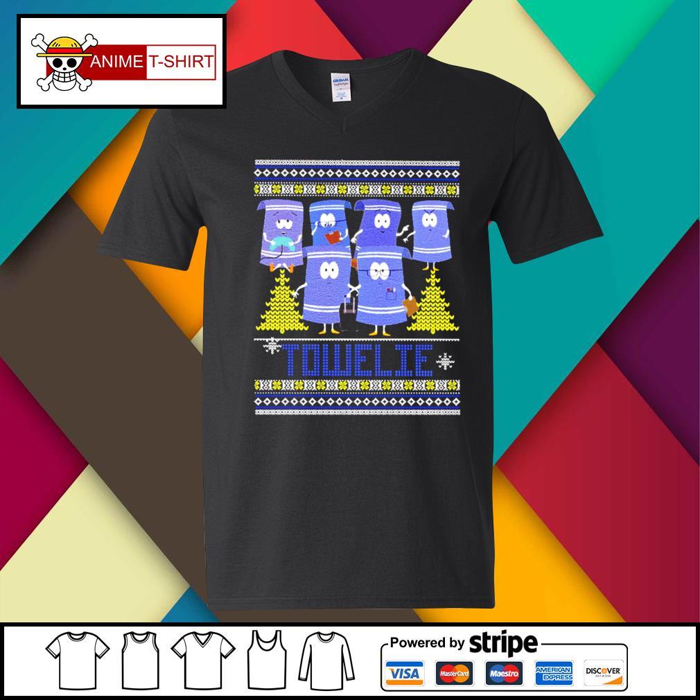 Towelie Christmas Shirt v-neck-t-shirt