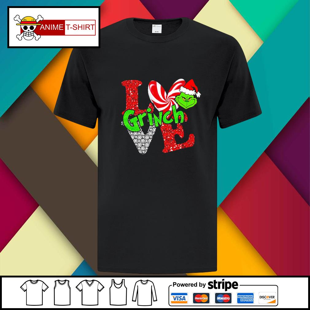 LGBT I love Grinch Christmas shirt